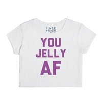 You Jelly-Female Snow T-Shirt