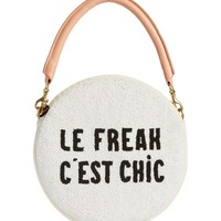 Clare V. Le Freak Beaded Circle Clutch | Nordstrom