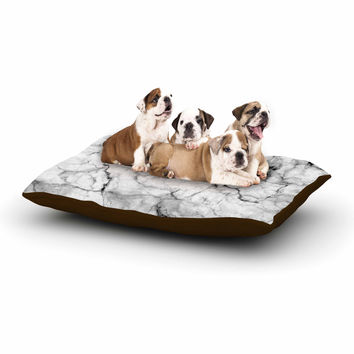 "Chelsea Victoria ""Marble No 2 "" Black Modern Dog Bed"