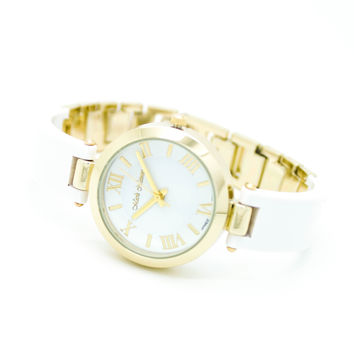 Roman bangle style watch