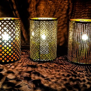 Decorative Mesh Table Lamp