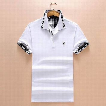 DCCKUN3 Men Louis Vuitton T-Shirt Top Tee