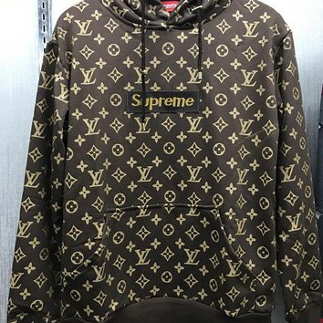Boys & Men Supreme X Louis Vuitton Top Sweater Hoodie