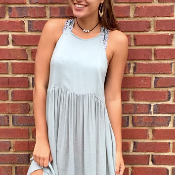 All Smiles Dress - Teal