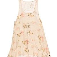 FEATHER ROSE DRESS