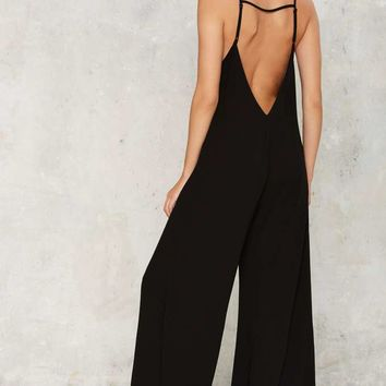 Let it Slip Jumpsuit