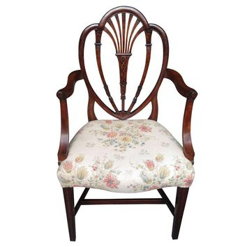 Pre-owned Queen Anne Chair