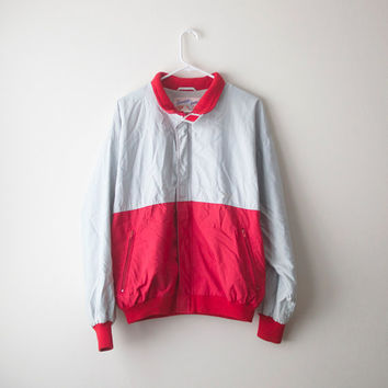 Retro 80's Colorblock Windbreaker