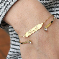 Killin' It Bar Bracelet