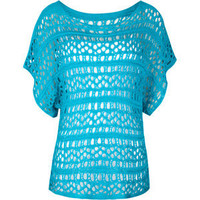 FULL TILT Open Weave Womens Sweater | Tillys.com