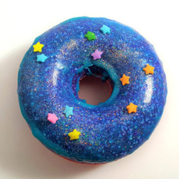Galactic DOHboy Strawberry Icing Scented Galaxy Donut Bath Bombs!
