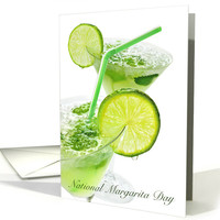 Celebrate National Margarita Day February 22nd with Recipe card