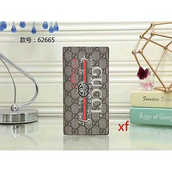 GUCCI female tide card fashion exquisite card package F Gray