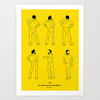 It's Always Sunny In Philadelphia Art Print by Niege Borges