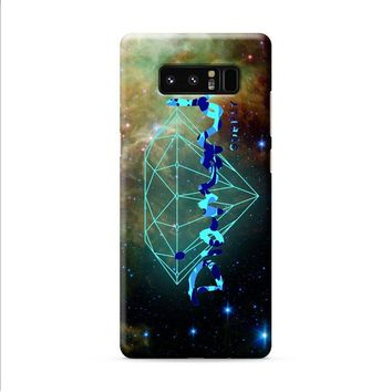 Diamond Supply Co Galaxy Nebula Samsung Galaxy Note 8 case