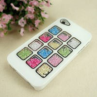 Colorful Cubes Dancing Diamond Case for iPhone 4/4S