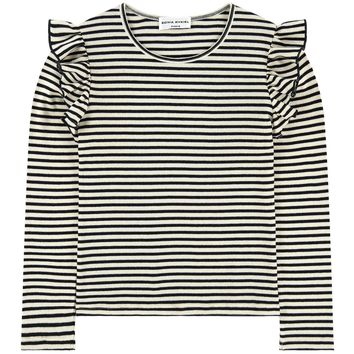 Sonia Rykiel Black and White Striped Top