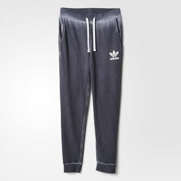 adidas Premium Essentials Washed Track Pants - Grey | adidas US