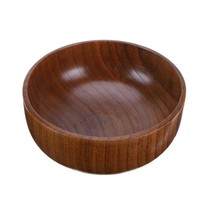 Natural Jujube Wood Soup/Salad Bowl