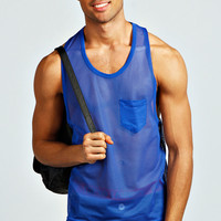 Basic Mesh Pocket Vest