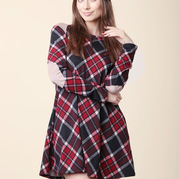 Tartan Plaid Flannel Dress