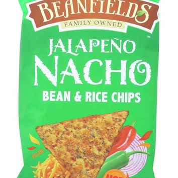 BEANFIELDS: Jalapeño Nacho Bean and Rice Chips 5.5 Oz