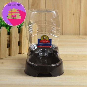 Large Capacity Pet Dog/Cat Automatic Water Dispenser Drinking Water Puppy Food  Dish Bowl