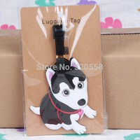 1pcs Husky bag Pendant Travel Name Tag Novelty toys