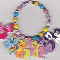 My Little Pony Inspired Bracelet by Oseweverything on Etsy