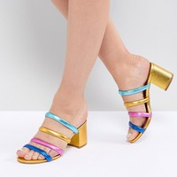Kurt Geiger Major Midi Block Heeled Sandal at asos.com