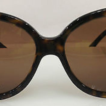 NEW AUTHENTIC GIVENCHY SGV 690 COL 0722 TORTOISE PLASTIC SUNGLASSES FRAME SGV690