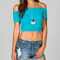 FULL TILT Off Shoulder Womens Tee 215271512 | Knit Tops & Tees | Tillys.com