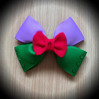Ariel Little Mermaid Disney Princess Inspired Hair Bow