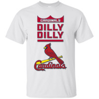 St. Louis Cardinals : Dilly Dilly : MLB : Cotton T-Shirt