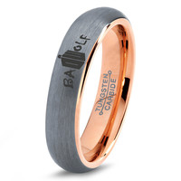 Dr Who Ring Doctor Time Lord Design Bad Wolf Gallifrey Symbol Ring Mens Geek Sci Fi Jewelry Boys Girl Women Ring Fathers Day Gift Holiday Tungsten Carbide 293