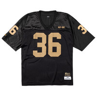 HUF - HUF X WU-TANG FOOTBALL JERSEY // BLACK