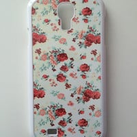 Pink Rose Floral Android Case