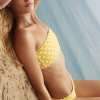 VERDE LIMON Yellow Dots Cabo Top