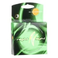 Night Light Condoms Premium Latex Condoms Lubricated 12 condoms