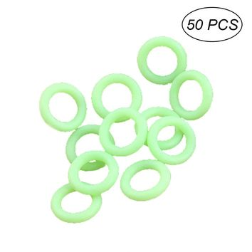 50 Pcs Glow In The Dark Stake Rings