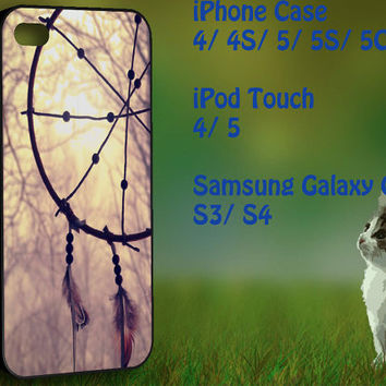 Dream Catcher at the sea side Samsung Galaxy S3/ S4 case, iPhone 4/4S / 5/ 5s/ 5c case, iPod Touch 4 / 5 case