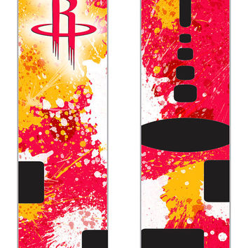 Rockets Inspired Custom Nike Elite Socks