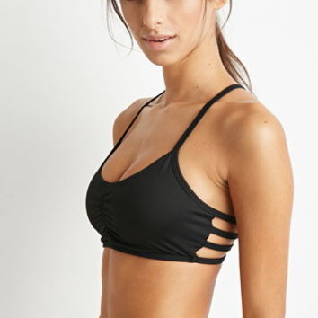 Low Impact - Caged-Back Sports Bra