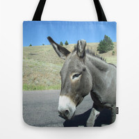 Do not be an ass Tote Bag by Gwynstone Originals