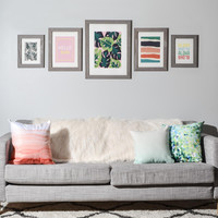 Zoe Wodarz Patio Party Gallery Wall Set