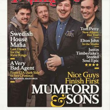 Mumford and Sons Rolling Stone Magazine Poster 22x34