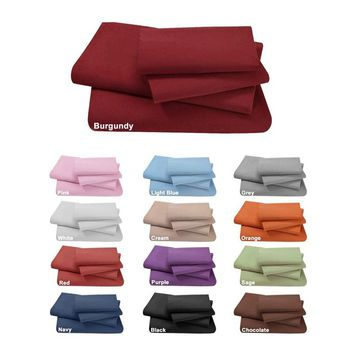 Swan Comfort Ultra Soft Egyptian Comfort Deep Pocket Wrinkle Free Sheet Set