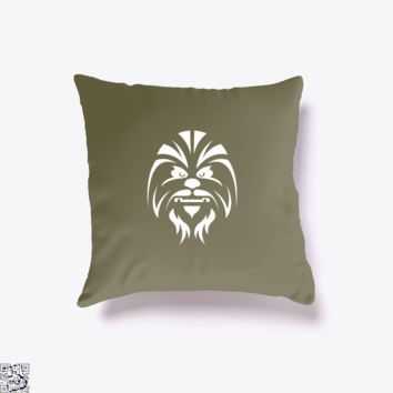 Chewbacca, Star Wars Throw Pillow Cover