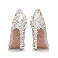 HIJACK Nude High Heel Court Shoes by KG Kurt Geiger | Kurt Geiger
