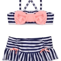 Hula Star 'Ships Ahoy' Two-Piece Swimsuit (Toddler Girls & Little Girls) | Nordstrom